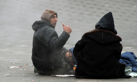 Roma beggars not run by crime groups: report