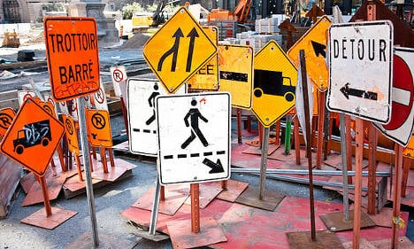 Baffling French road signs: Take the test