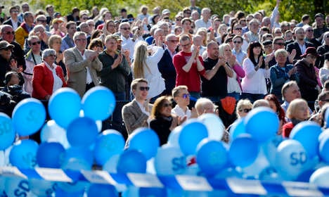 Support grows for right and Swedish nationalists