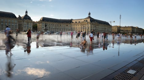 And the most beautiful square in France is…?