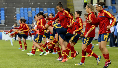 Spain's women strive for glory in World Cup debut