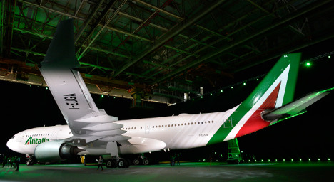 Alitalia spruces up with new colours – and WiFi