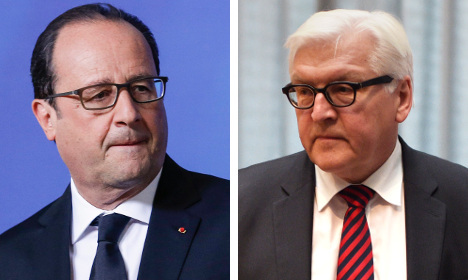 Germany stands with France in face of terror