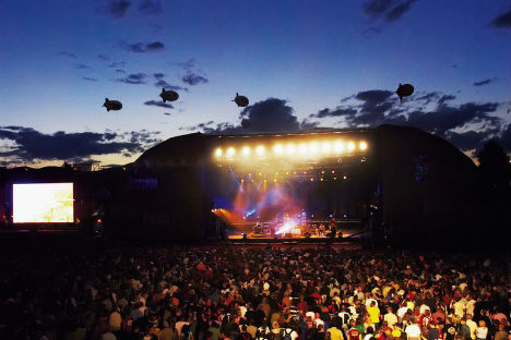 Vienna gears up for mega open-air party