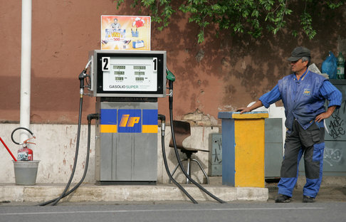 Italy has fourth highest petrol costs in world