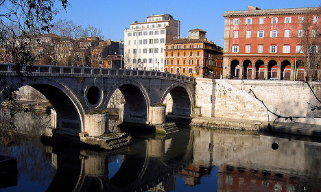 Body of 22-year-old German found by Tiber