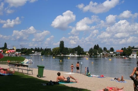 Best places in Vienna to escape the heatwave