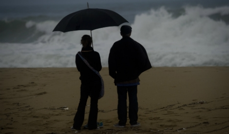 Finally! Spain's heatwave to end with fierce storms