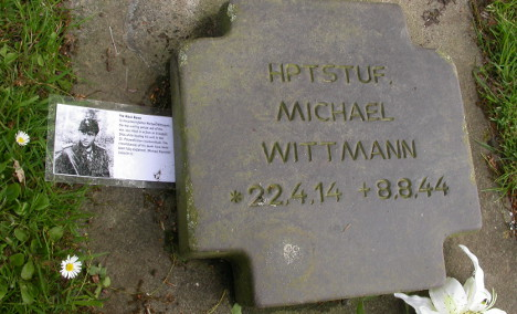 Nazi tombstone stolen from Normandy cemetery
