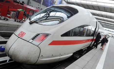 Fire on Munich train leads to cancellations