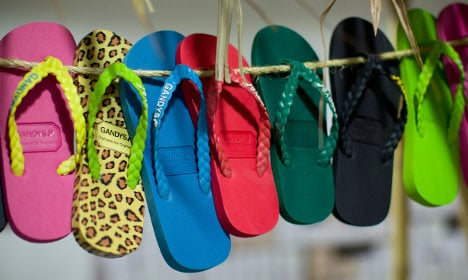 French woman fined €90 for driving in flip-flops