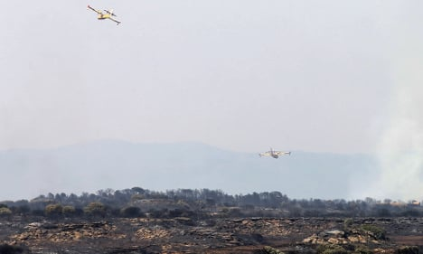 Spain on high alert for wildfires amid heatwave