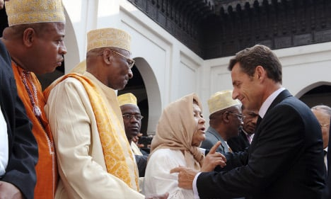 Don't turn churches into mosques, says Sarkozy