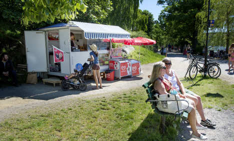 Sweden's summer is hotting up – yes, really