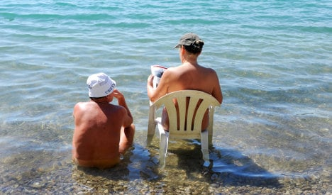 Six odd things Germans do in the summer