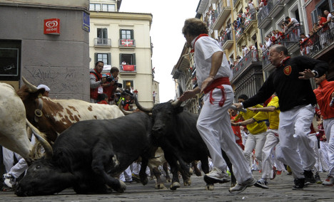 When Pamplona bull runners get hooked