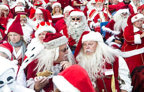 Santa Claus is coming to town… in July