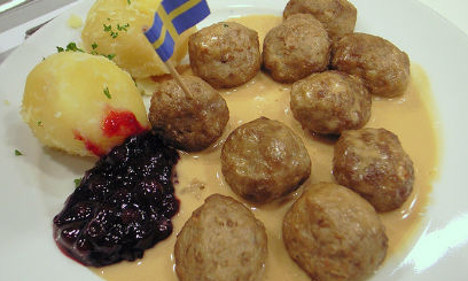 Meatball row as Ikea changes Norway recipe
