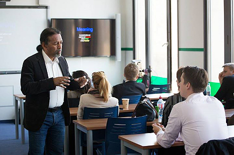 The online MBA with campus and community