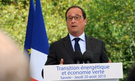 Hollande says no climate deal would be 'disaster'