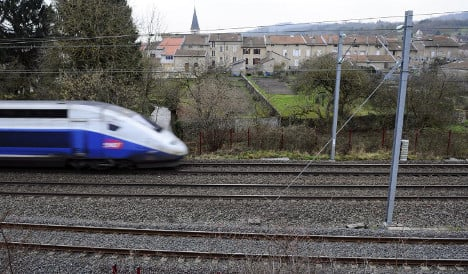 French police clear train after 'armed men joke'