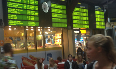 Swedish commuters face rush-hour travel chaos