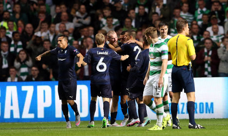 Malmö fans vow to 'blow Scots off the pitch'