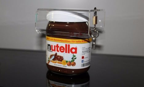 German gadget clamps down on Nutella thieves