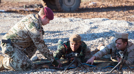German army reports chemical attack in Iraq