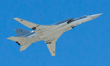 Russian jets spotted off Sweden's east coast