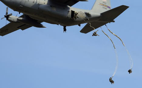 NATO troops join in large German training exercise