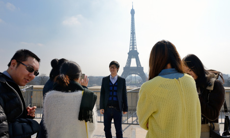 Paris students assist police with Asian visitors