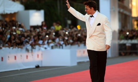 Depp and Netflix are the talk of Venice film fest
