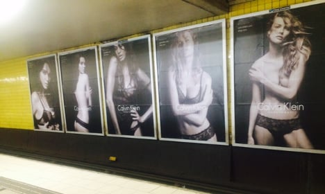 'Sexist' underwear posters spark heated row