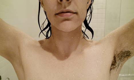 Underarm hair post gets Swedes in a tangle