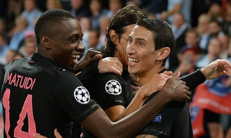 Di Maria scores to help PSG swat aside Malmo