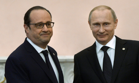 Russia all talk but no action, says France