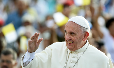 '70 percent of Americans approve of Pope Francis'