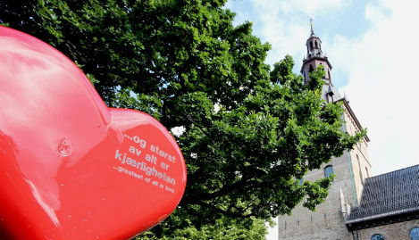 Oslo church wants to remove 22 July memorial