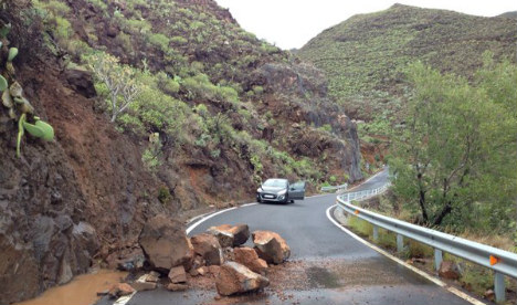 Gran Canaria calls for 'catastrophe' status in aftermath of fierce storms