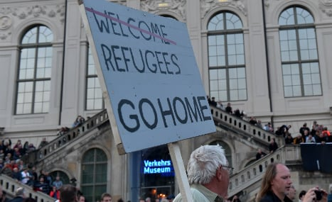 Pegida ranks swell as refugee fears mount