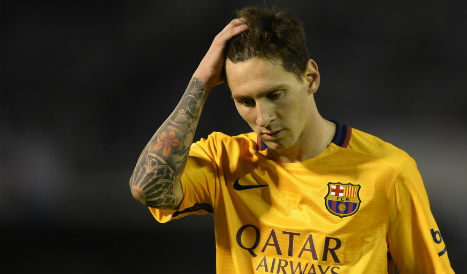 Messi tax fraud charges dropped but father faces 18 month sentence