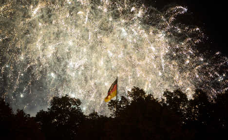 IN PICTURES: How Unity Day lit up Germany
