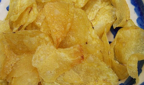 One fifth of Spanish potato crisps have too high levels of carcinogens