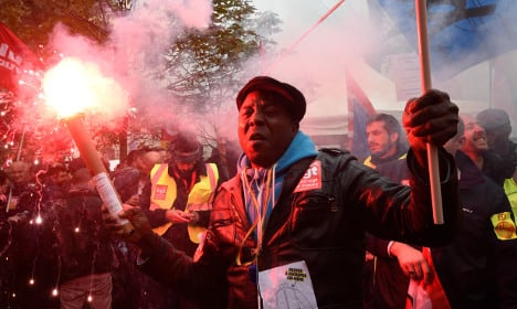 Thousands protest as Air France confirms cuts