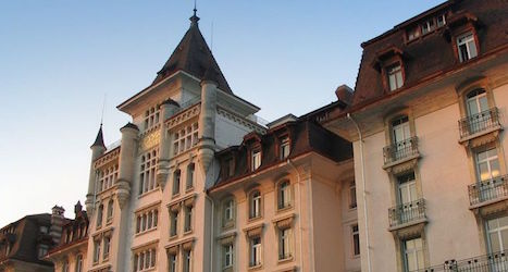 Lausanne luxury hotel opens after renovations