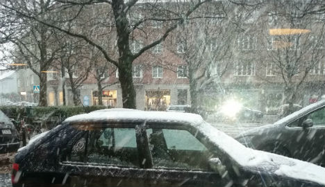More snow expected in southern Sweden