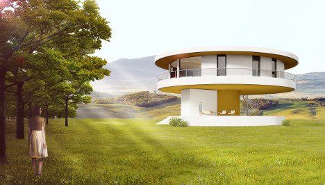 Rotating houses on Costa del Sol promise new spin on solar power
