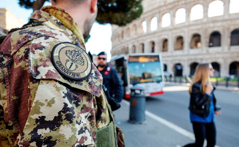 Italy to spend €1 billion more on security