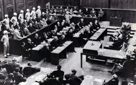 70 years on: when the first Nazis were tried